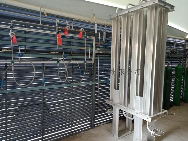 石墨烯研究院液氮杜瓦瓶集中供气系统工程