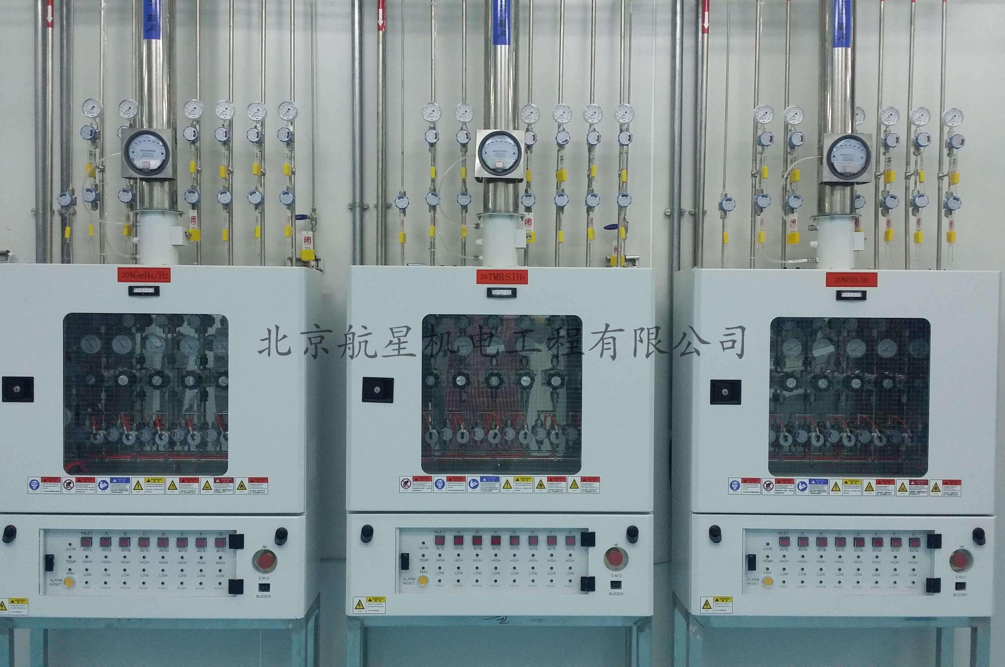 中国的电子特气市场